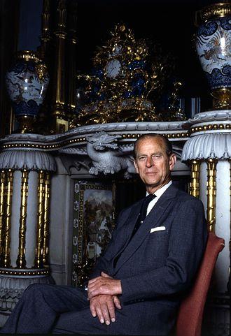 Greeks in the United Kingdom - Prince Philip, Duke of Edinburgh