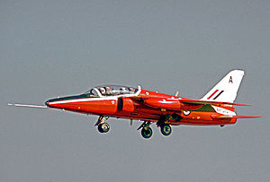 Folland Gnat - Operational Gnat T.1 of the RAF Central Flying School in 1974