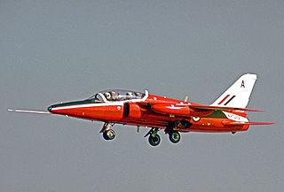 Folland Gnat aircraft