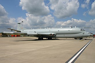 1995 Royal Air Force Nimrod R1 ditching - Nimrod R.1, identical to the aircraft lost