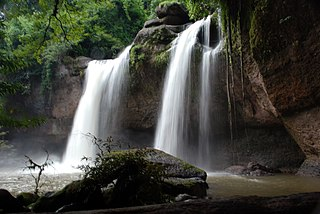 waterfall in Khao Yai National Park