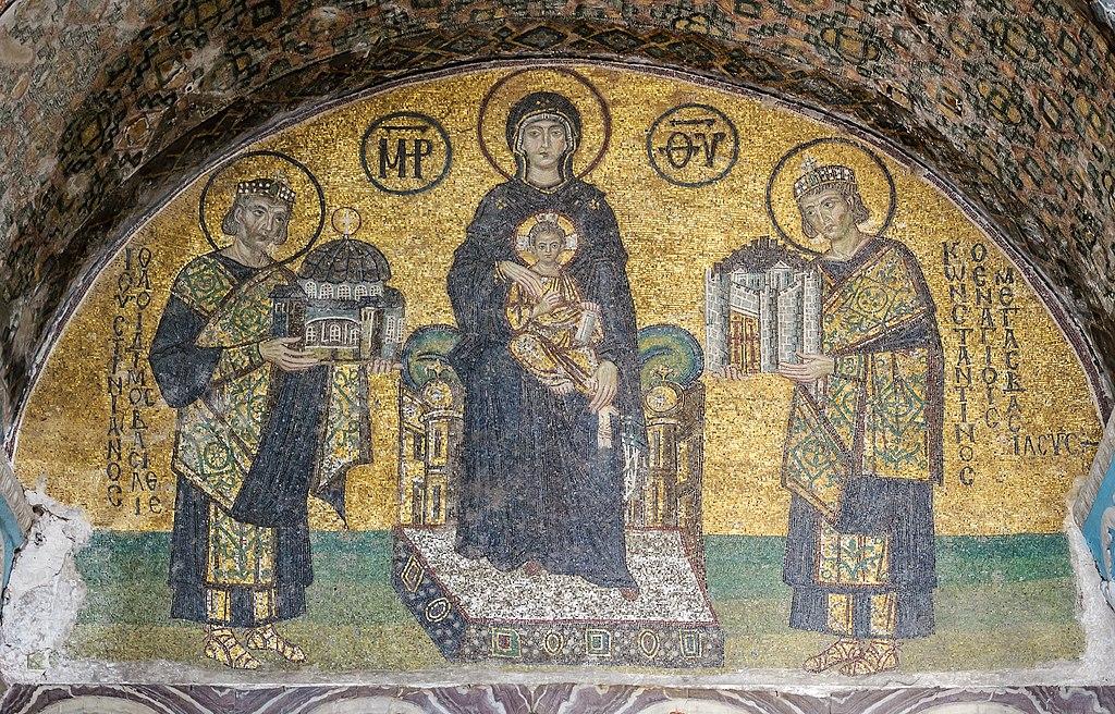 Hagia Sophia Southwestern entrance mosaics 2