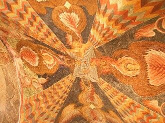 Hagia Sophia, Trabzon - Image: Hagia Sophia frescoes