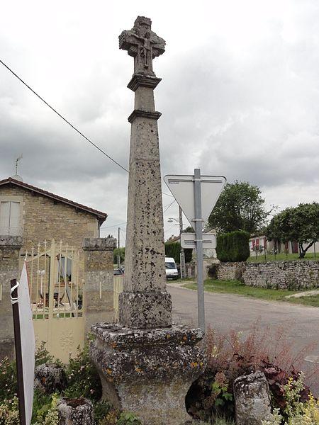 Haironville (Meuse) croix de chemin