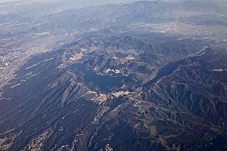 Mount Hakone volcano in Honshu, Japan