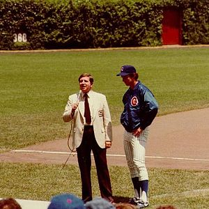 Mike Krukow - Krukow being interviewed by Milo Hamilton in 1981