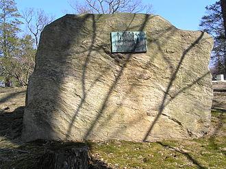 Hans Zinsser - The gravesite of Hans Zinsser