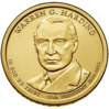 Warren Harding dollar