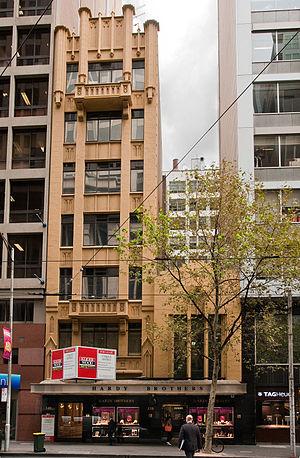 Marcus Barlow - Image: Hardys building