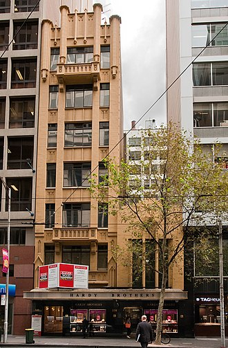 Hardy Brothers - The Collins Street Melbourne Store