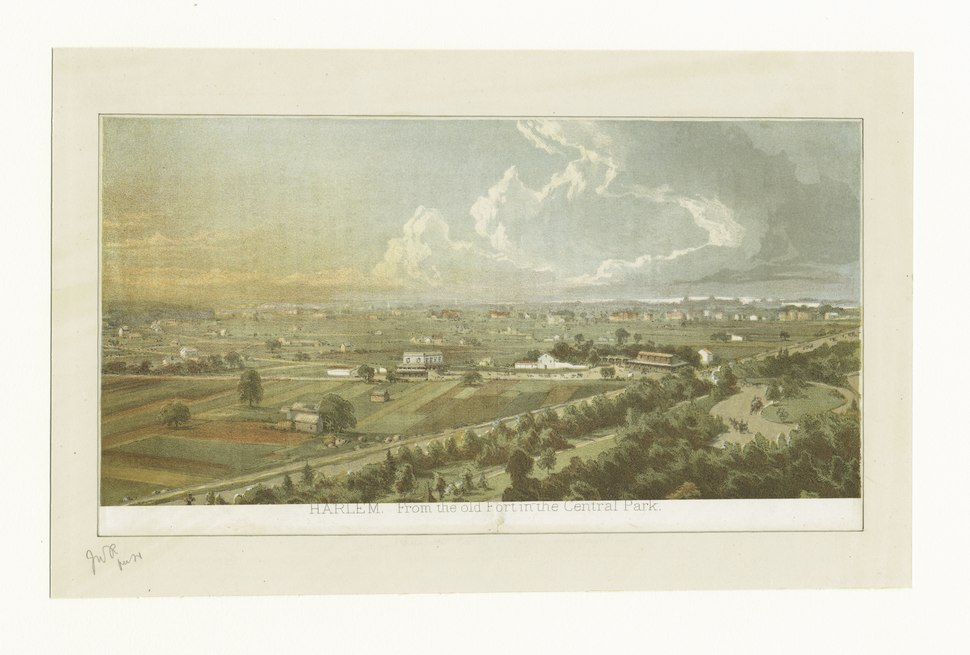 Harlem, from the old fort in the Central Park (NYPL b13512822-424264).tiff
