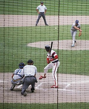Harold Baines - Baines would take a high step with his right leg, a la Mel Ott, as part of his stride into a pitch.