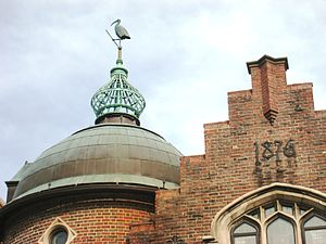 Harvard Lampoon Building - Image: Harvard Lampoon Building dome, Cambridge, MA