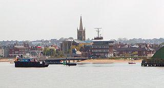 Harwich town in Essex, England