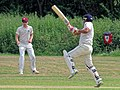 Hatfield Heath CC v. Takeley CC on Hatfield Heath village green, Essex, England 12.jpg