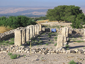 Tel Hazor - House of Pillars at Hazor