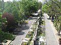 Hauptfriedhof Wuerzburg from bridge in east 12.jpg