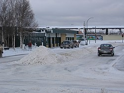 Street in Hay River