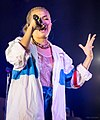Hayley Kiyoko performing in Austin, Texas (2018-05-07) (27249107097).jpg