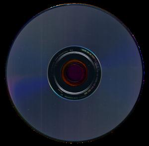HD DVD - Reverse side of a HD DVD