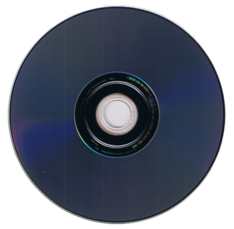 HD DVD - Reverse side of a HD DVD
