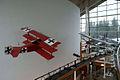 HeadToHead Nieuport 11 Fokker Dr.I Above Fokker EASM 4Feb2010 (14619322893).jpg