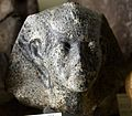 Head of Amenemhat (Ammenemes) III. Mottled diorite, half life-size. 12th Dynasty. From Egypt. The Petrie Museum of Egyptian Archaeology, London.jpg