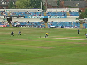 Cricket in England - Yorkshire v Surrey at the Headingley Cricket Ground in Leeds in 2005