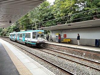 Heaton Park tram stop - Image: Heaton Park Station