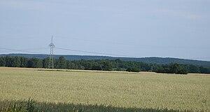Die Heidehöhe von Norden gesehen