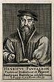 Heinrich Pantaleon. Line engraving. Wellcome V0004443.jpg