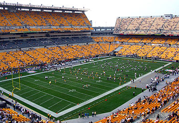 Heinz Field, home of the Pittsburgh Steelers, ...