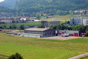 Heliswiss - Heliswiss Headquarters at Berne-Belp