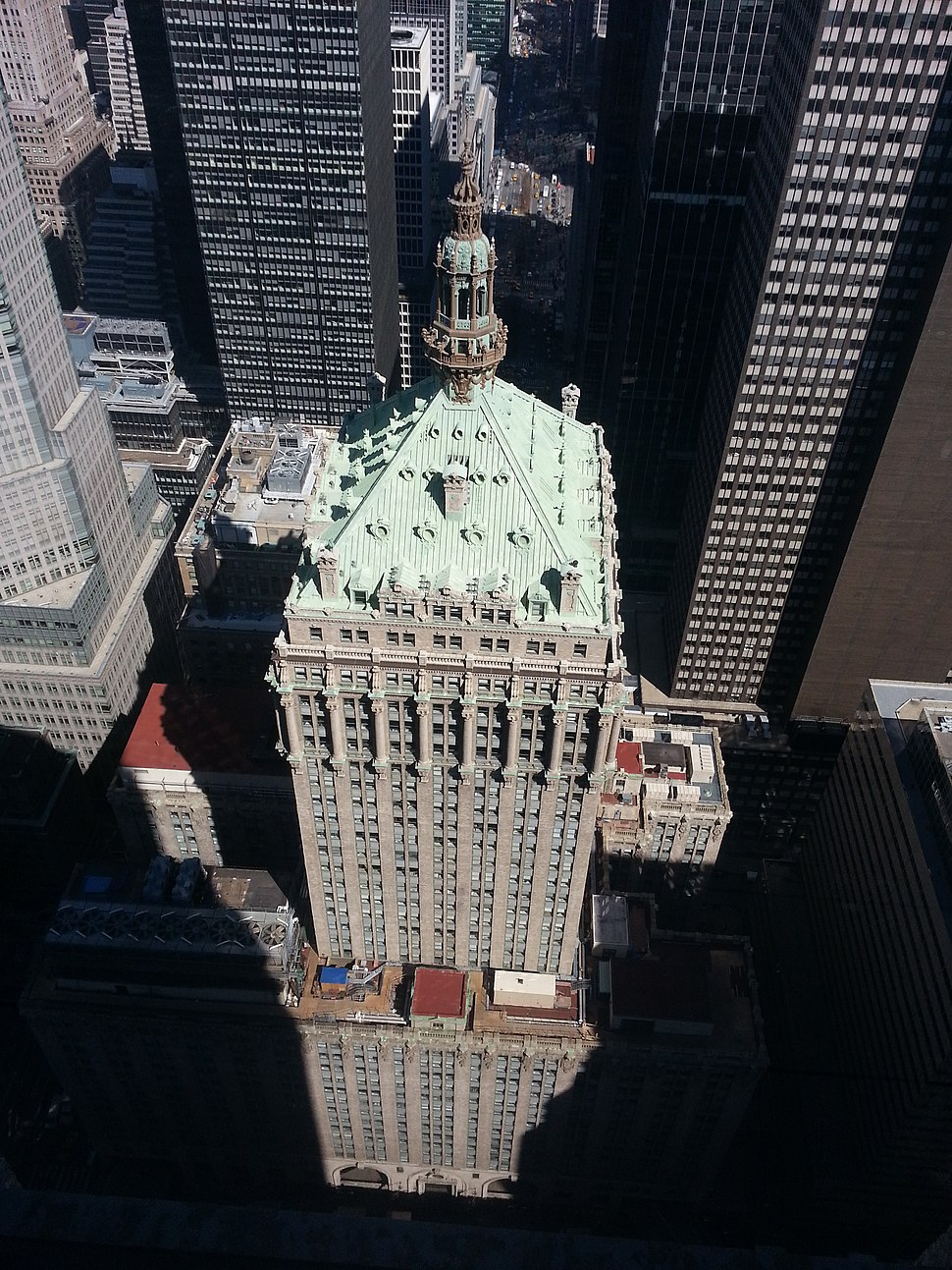 Helmsley Building from Above