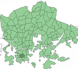 Kamppi Helsinki Subdivision in Uusimaa, Finland