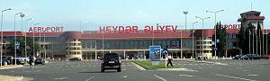 Transport in Azerbaijan - Heydar Aliyev International Airport in Baku