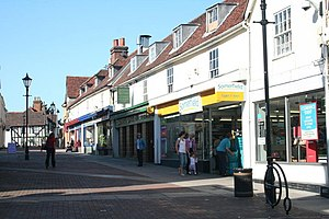Old Harlow - Image: High St., Old Harlow geograph.org.uk 305525