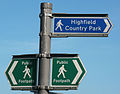 Highfield Country Park sign 1.jpg