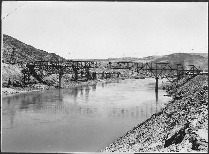 File:Highway bridge under construction - NARA - 293972.tiff