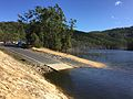 Hinze Dam in June 2015, 05.JPG