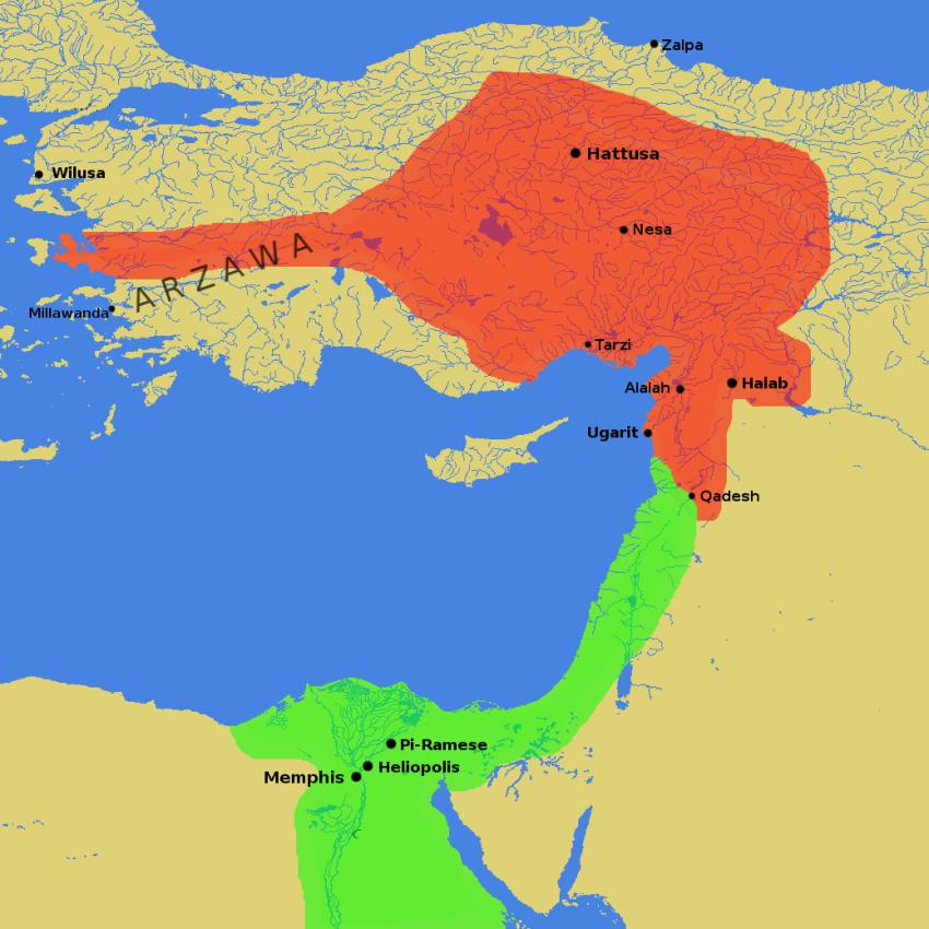 Hitt Egypt Perseus