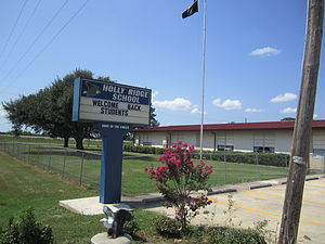 Richland Parish, Louisiana - Image: Holly Ridge High School, Holly Ridge, LA IMG 0178