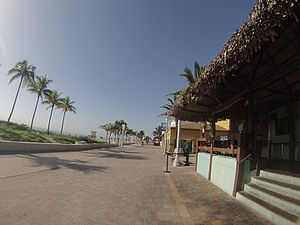 Hollywood, Florida - Hollywood beach in August 2014