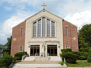 Sharon Hill, Pennsylvania - The new Holy Spirt Catholic Church, built in 1960, closed in 2015