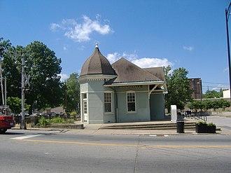 Hopkinsville L & N Railroad Depot - Image: Hopkinsville L&N Depot