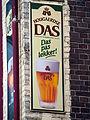 Hougaerdse DAS, emaille reclamebord, Bier Reclamemuseum.JPG