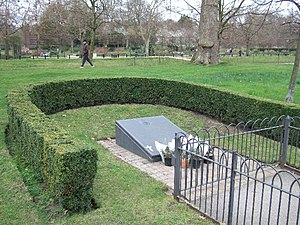 Hyde Park and Regent's Park bombings - Memorial in Hyde Park