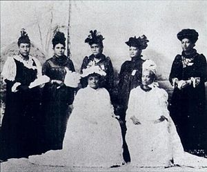 Opposition to the overthrow of the Kingdom of Hawaii - Hui Aloha ʻĀina for Women.