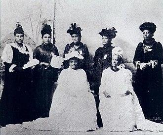 Opposition to the overthrow of the Kingdom of Hawaii - Hui Aloha ʻĀina for Women.