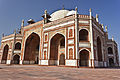 Humayun tomb - a red stone mughal architecture.JPG